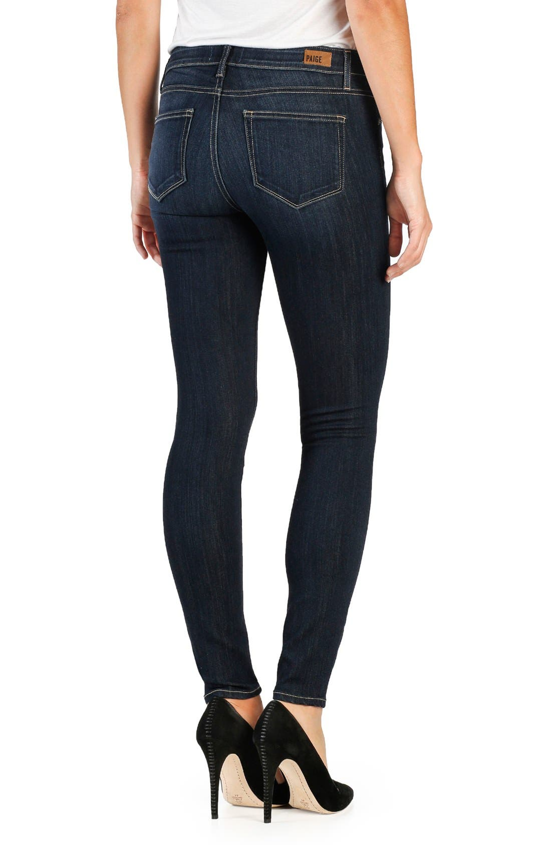 Alternate Image 2  - PAIGE Transcend Verdugo Ultra Skinny Jeans (Seneca)