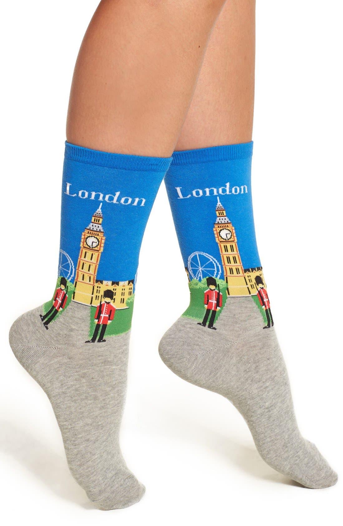 Hot Sox London Crew Socks