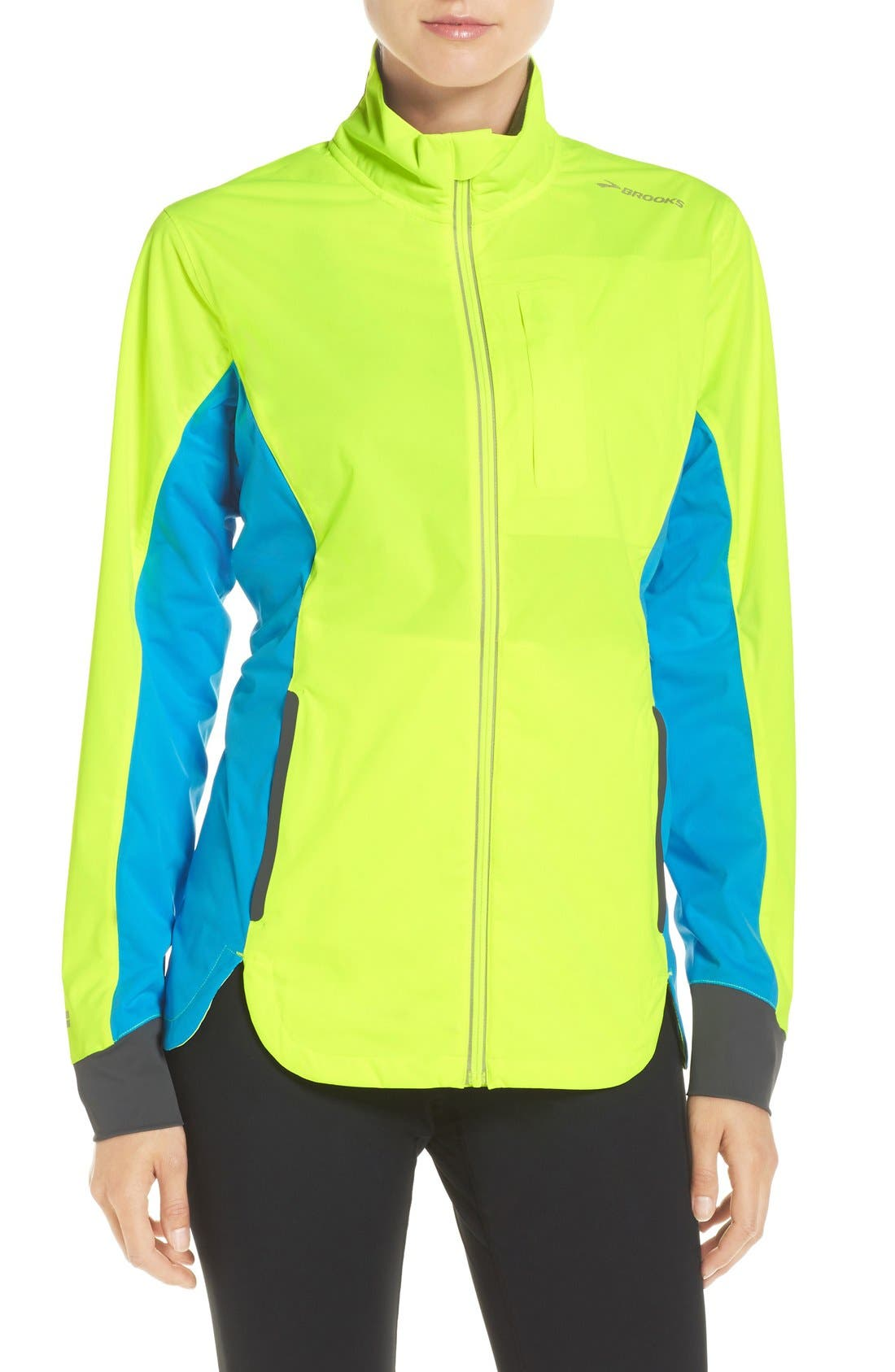 BROOKS 'Drift' Water Resistant Shell Jacket