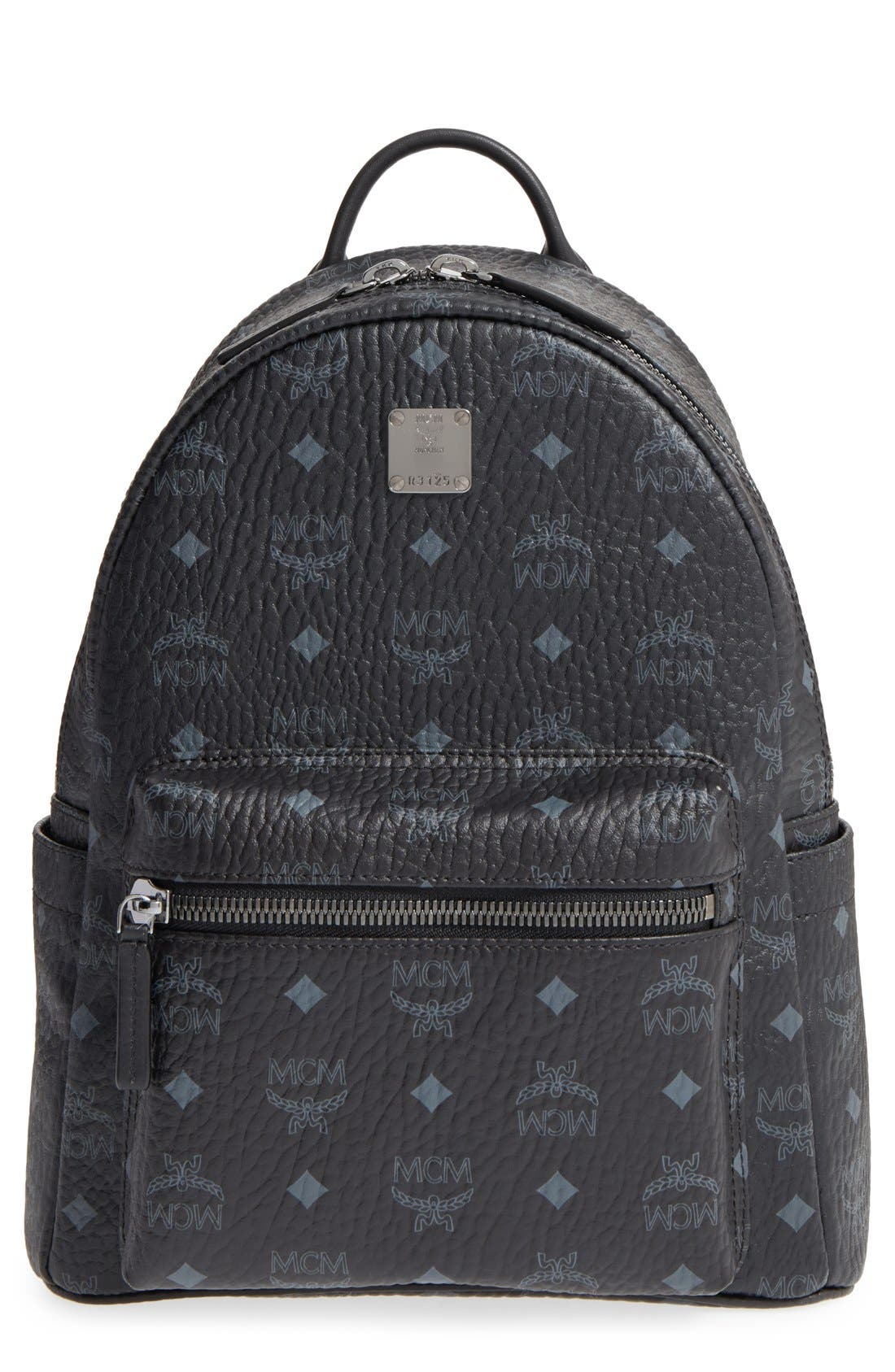 MCM Small Stark - Visetos Backpack
