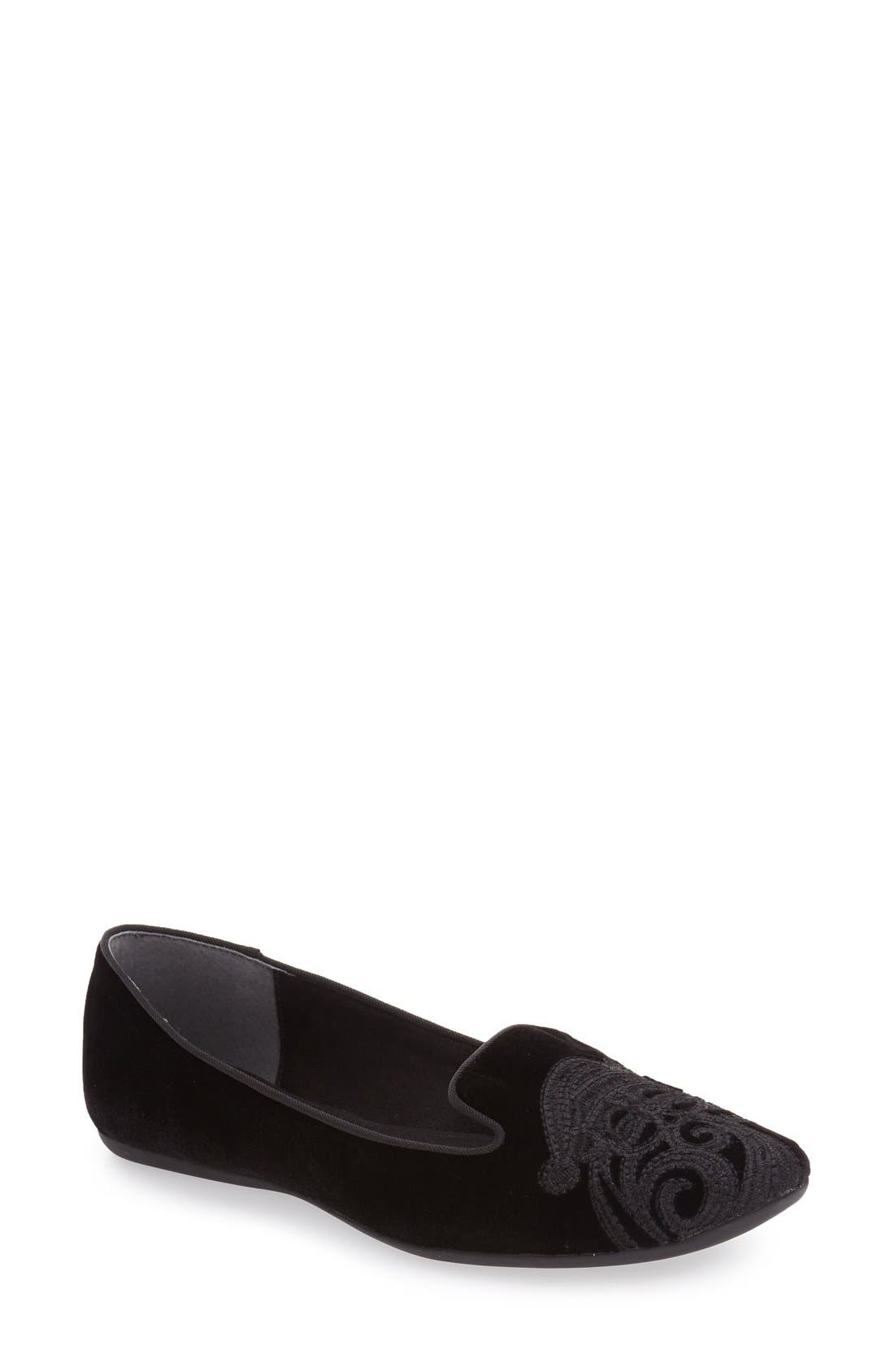 J. RENEÉ 'Slipsleigh' Santa Embroidered Loafer