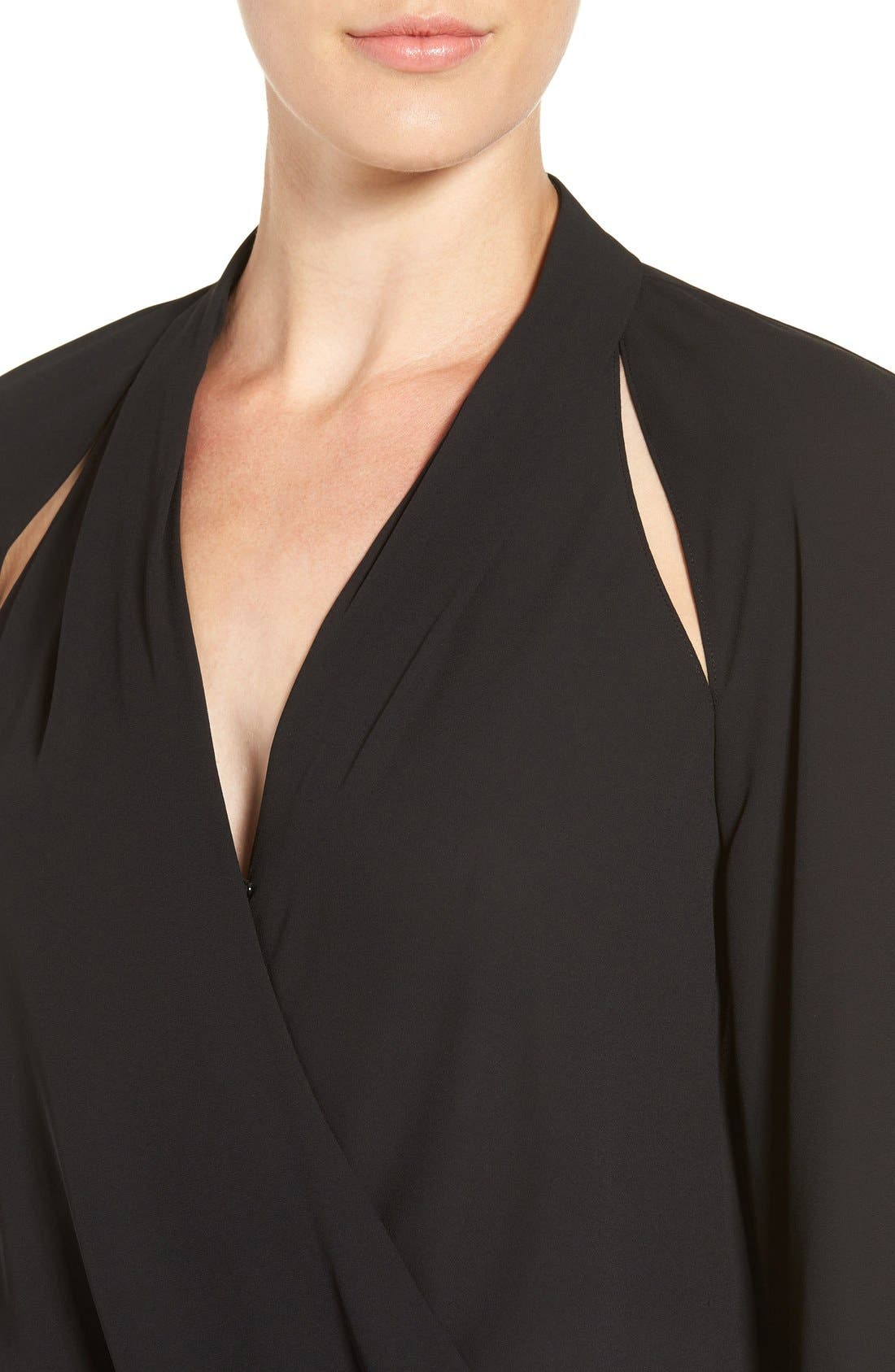 Alternate Image 4  - Trouvé Cutout Surplice Top