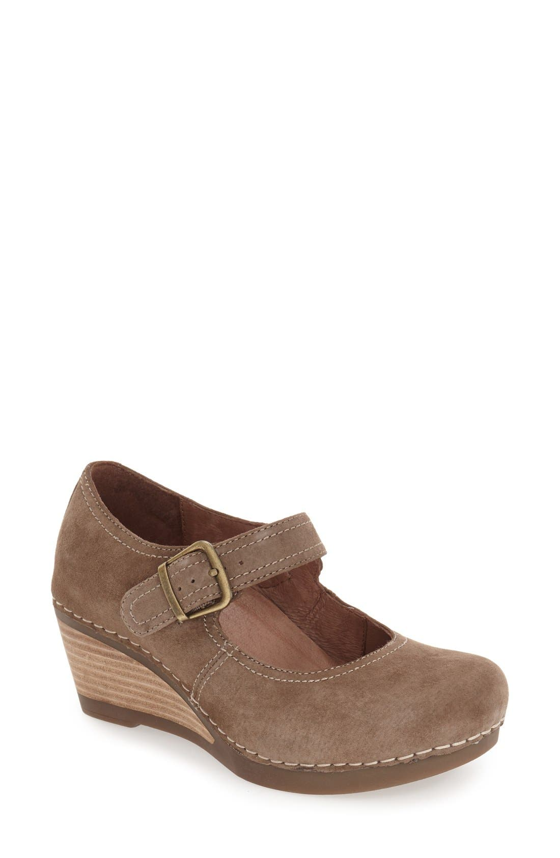 Dansko 'Sandra' Mary Jane Wedge (Women)