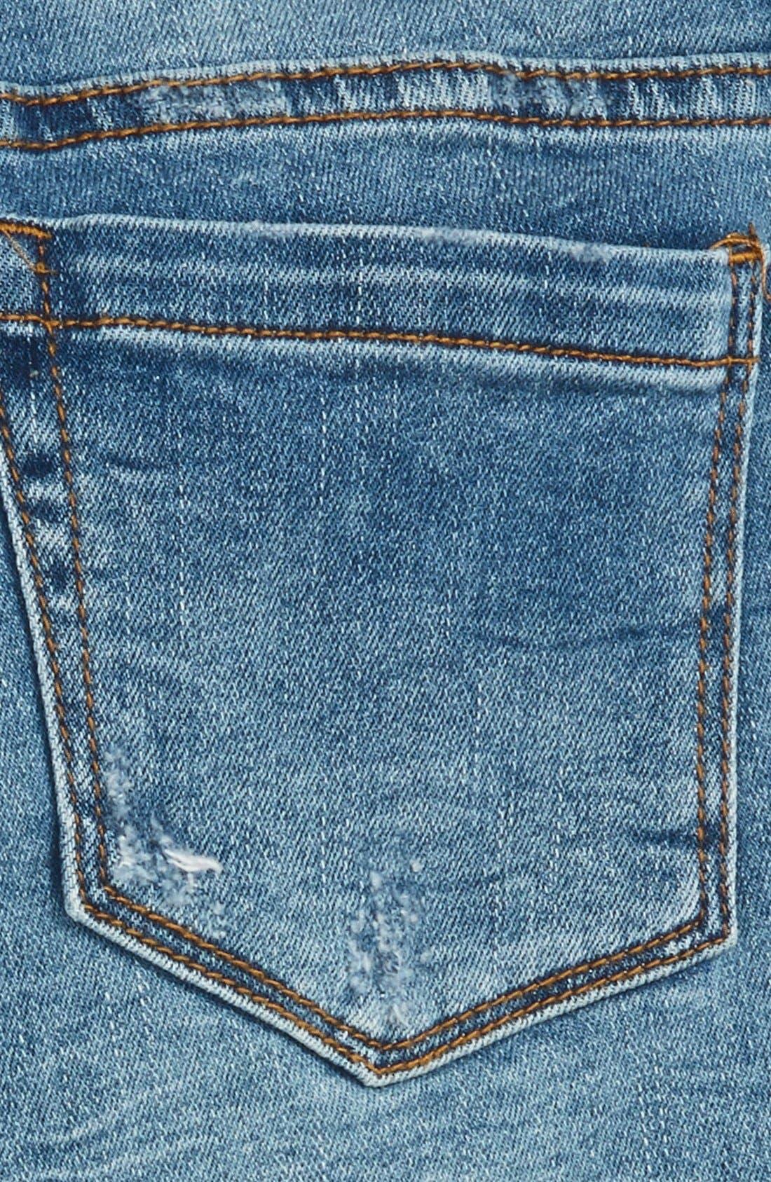 Alternate Image 3  - BLANKNYC Cutoff Denim Shorts (Big Girls)
