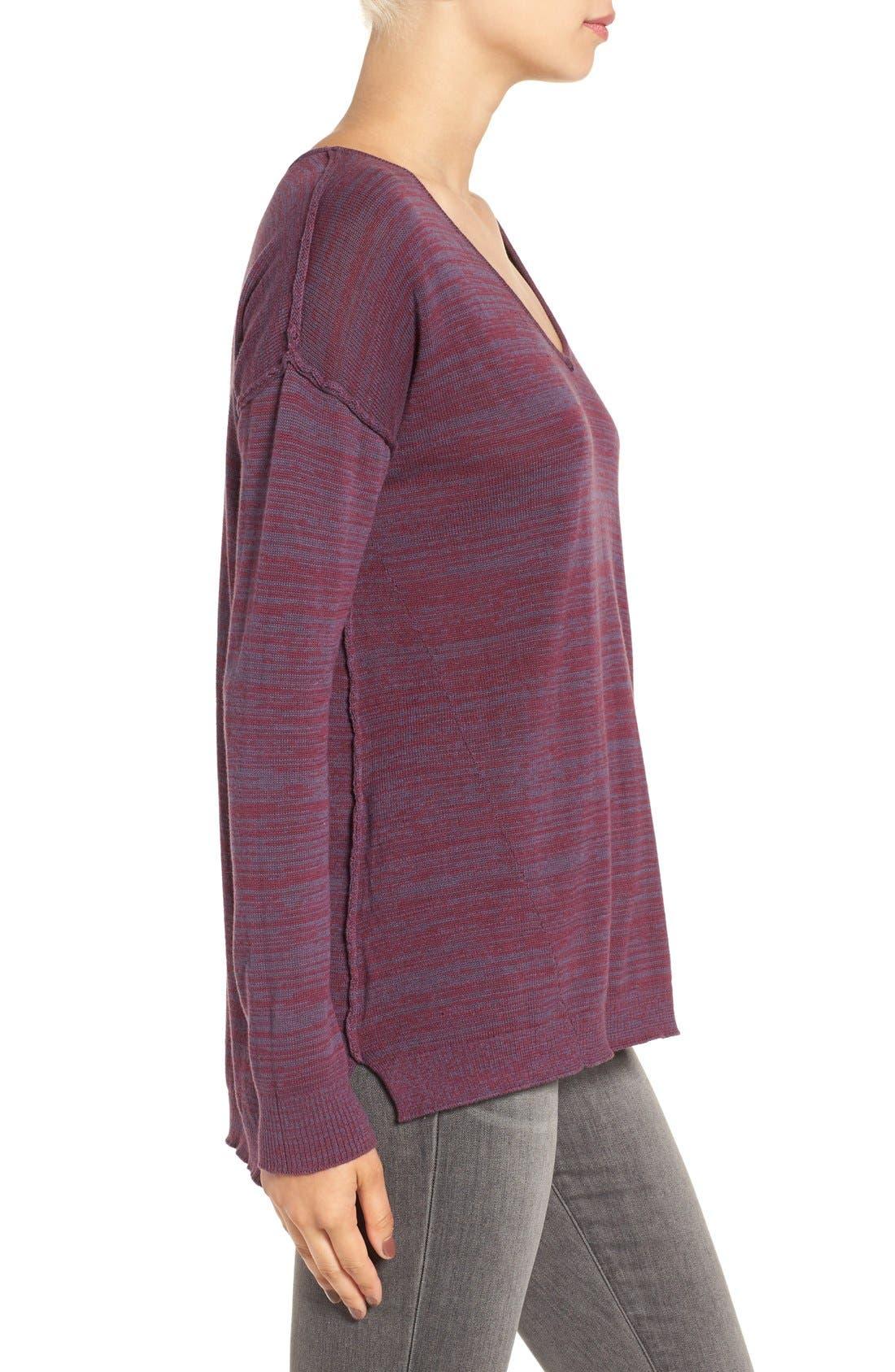 Alternate Image 3  - BP. Marl V-Neck Pullover
