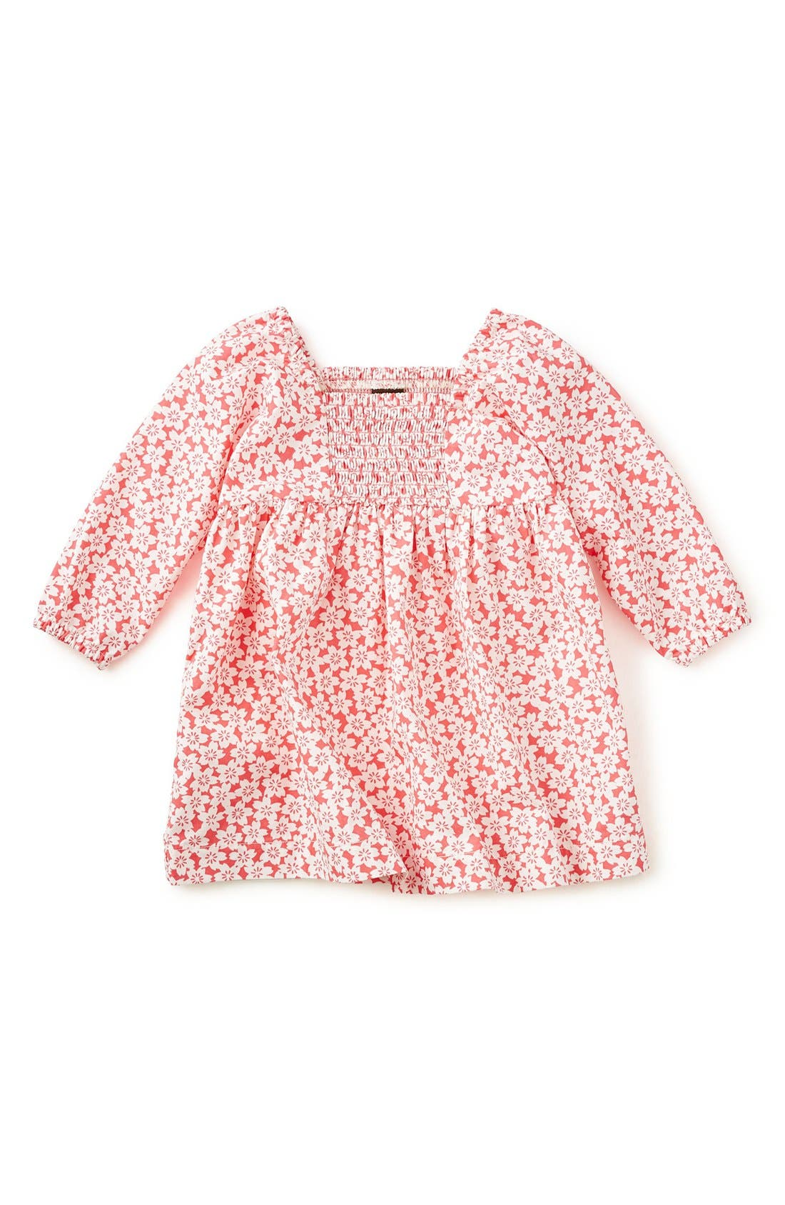 Tea Collection 'Anzu' Floral Print Smocked Dress (Baby Girls)
