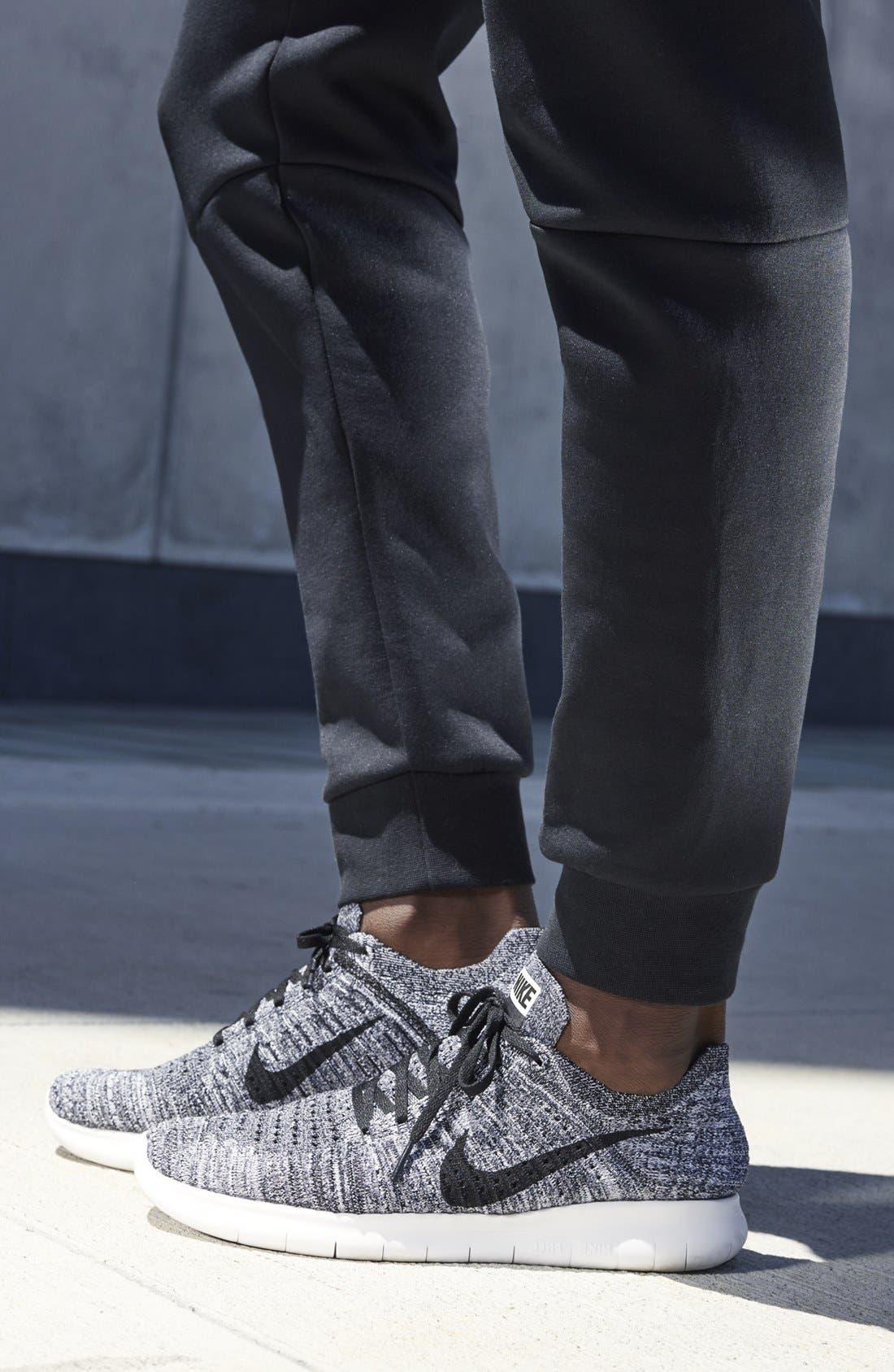Alternate Image 6  - Nike 'Free Run Flyknit' Running Shoe (Men)