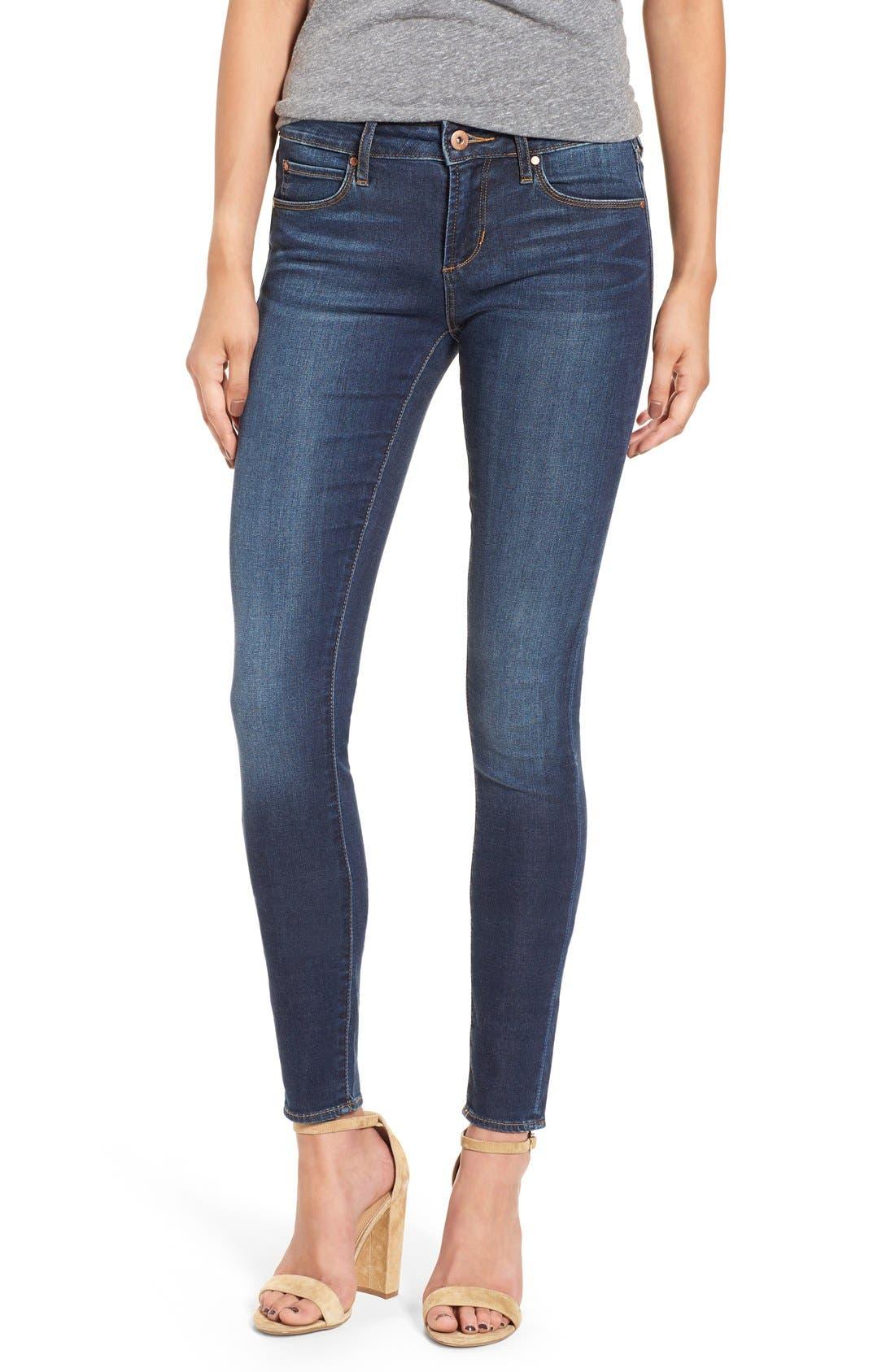 Main Image - Articles of Society 'Mya' Skinny Jeans (Glendale)