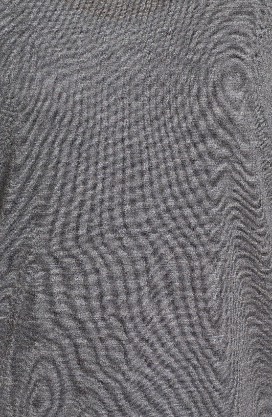 Alternate Image 5  - Eileen Fisher Featherweight Merino Wool Crewneck Sweater