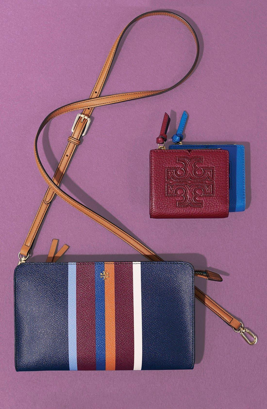 Alternate Image 4  - Tory Burch 'Mini Harper' Leather Wallet