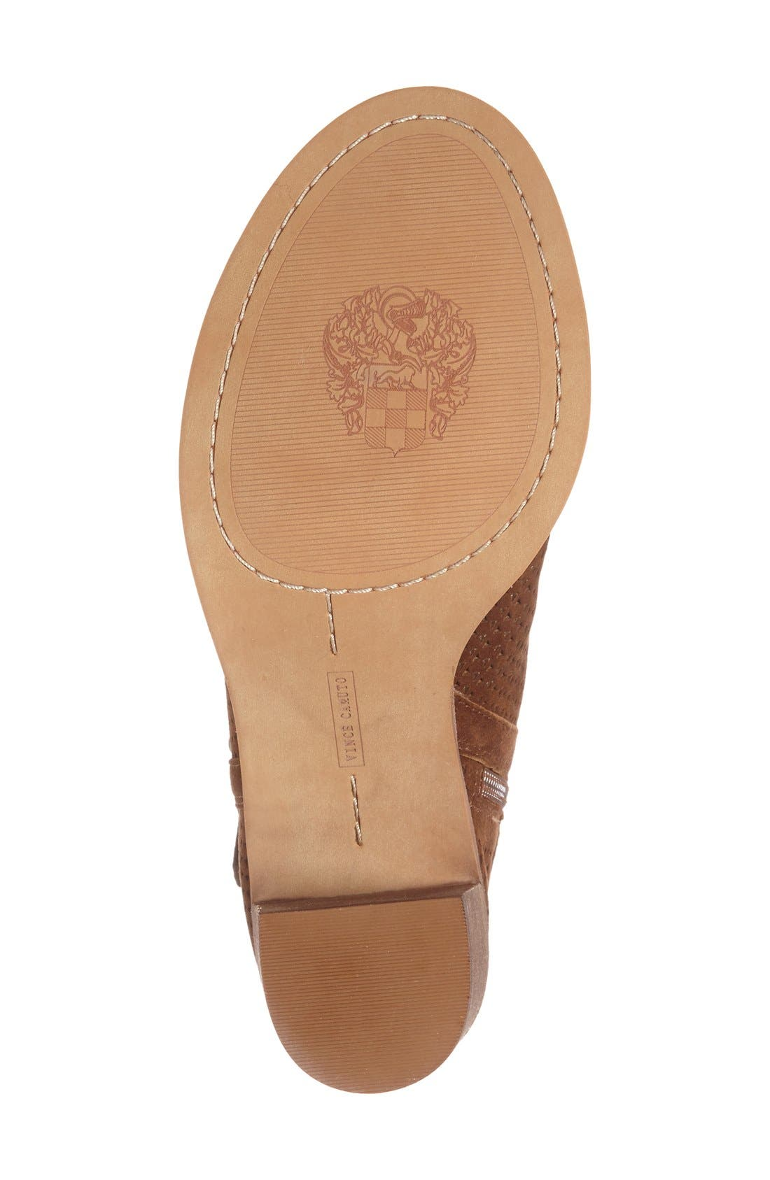Alternate Image 4  - Vince Camuto Celena Perforated Bootie (Women)