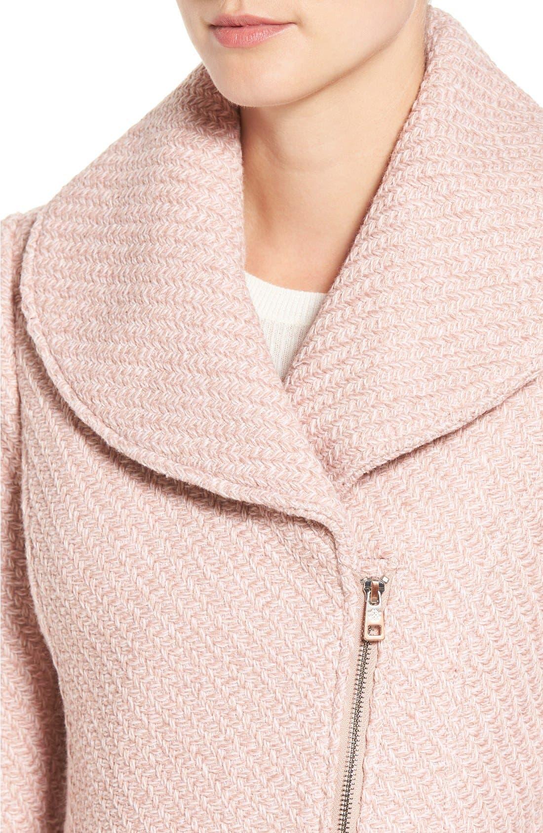 Alternate Image 4  - Jessica Simpson Shawl Collar Coat
