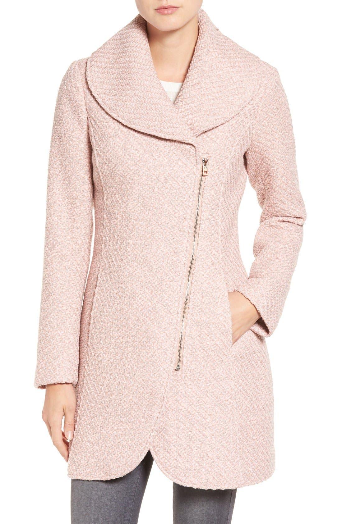 Main Image - Jessica Simpson Shawl Collar Coat