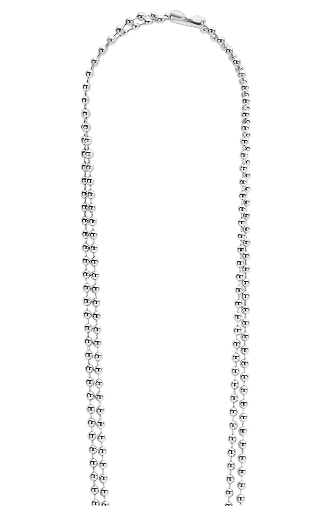 Alternate Image 2  - LAGOS 'Rare Wonders - Flower' Long Talisman Necklace