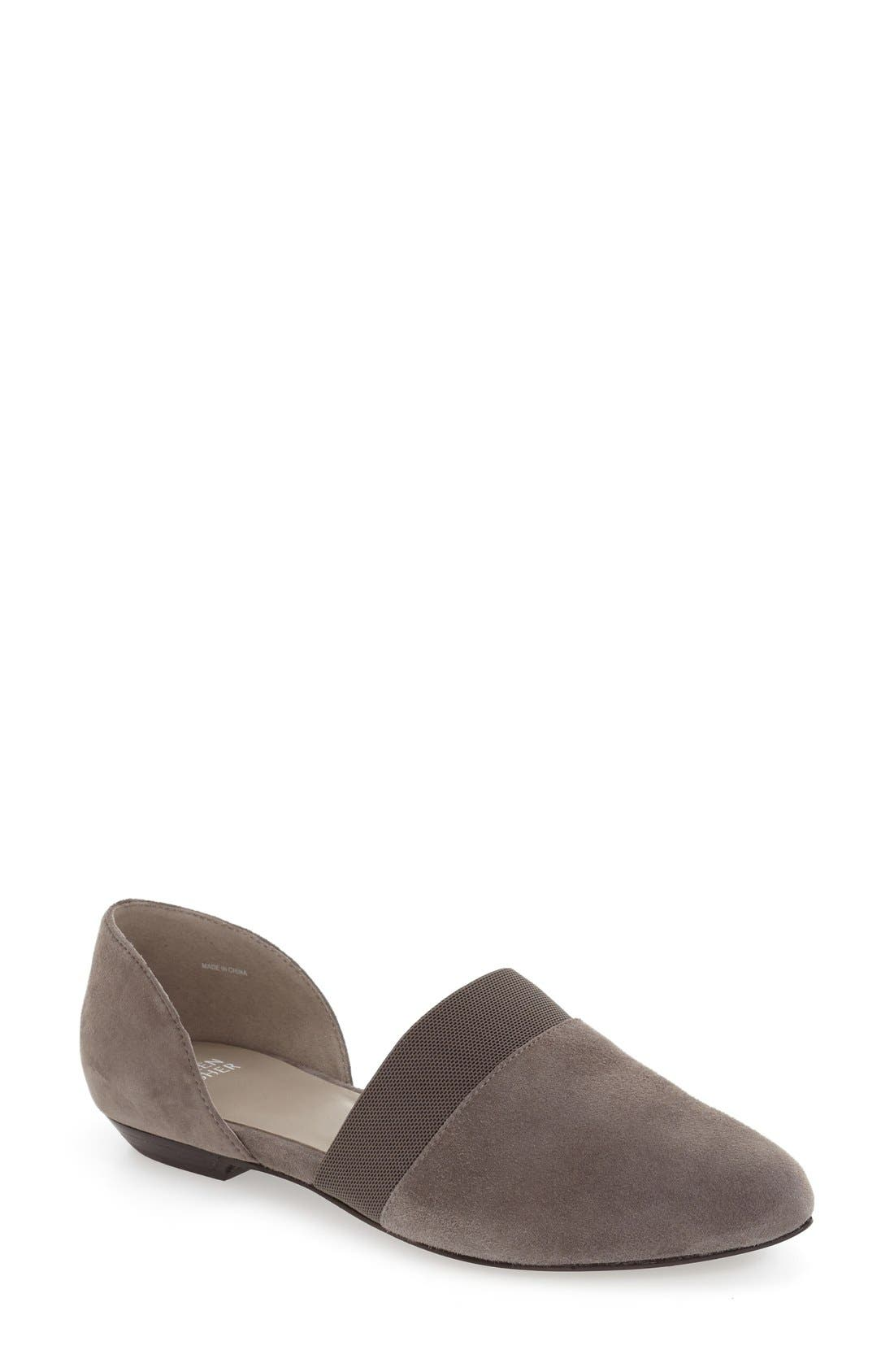 Eileen Fisher 'Flute' Pointy Toe Flat (Women)