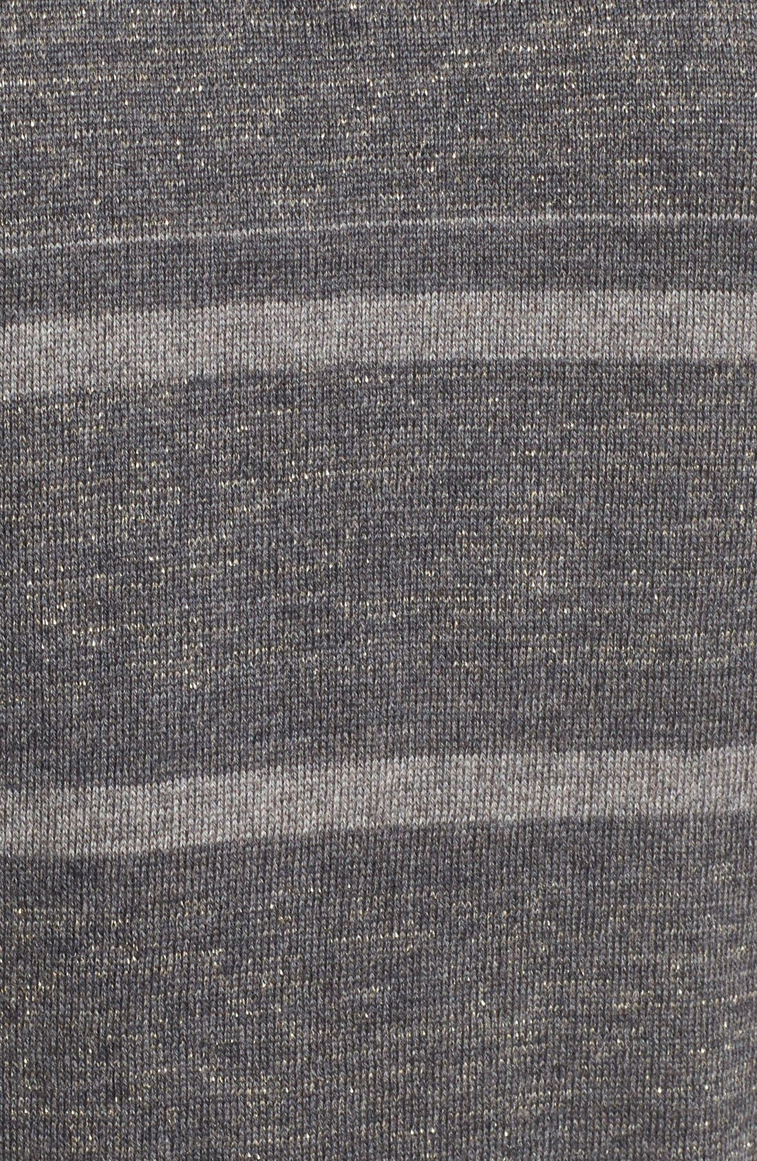 Alternate Image 5  - M.i.h. Jeans 'Falls' Metallic Stripe Merino Wool Sweater