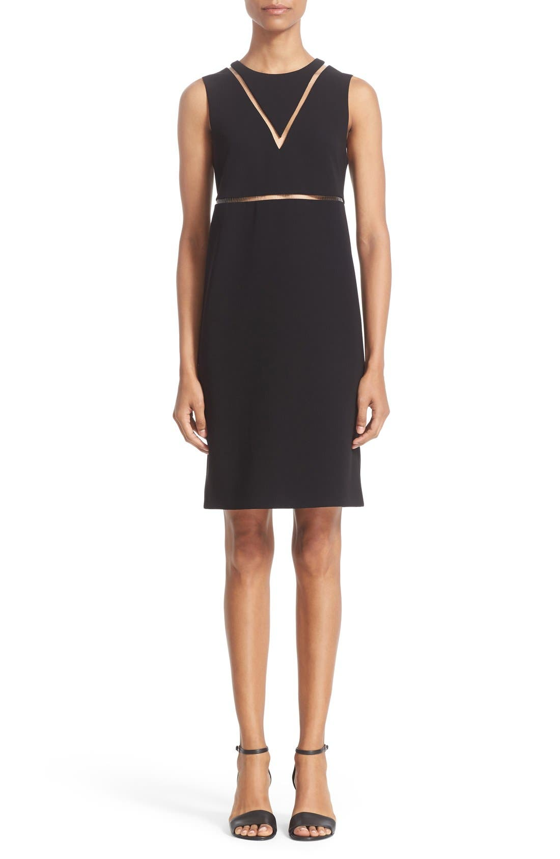 ALEXANDER WANG Ladder Stitch Sheath Dress