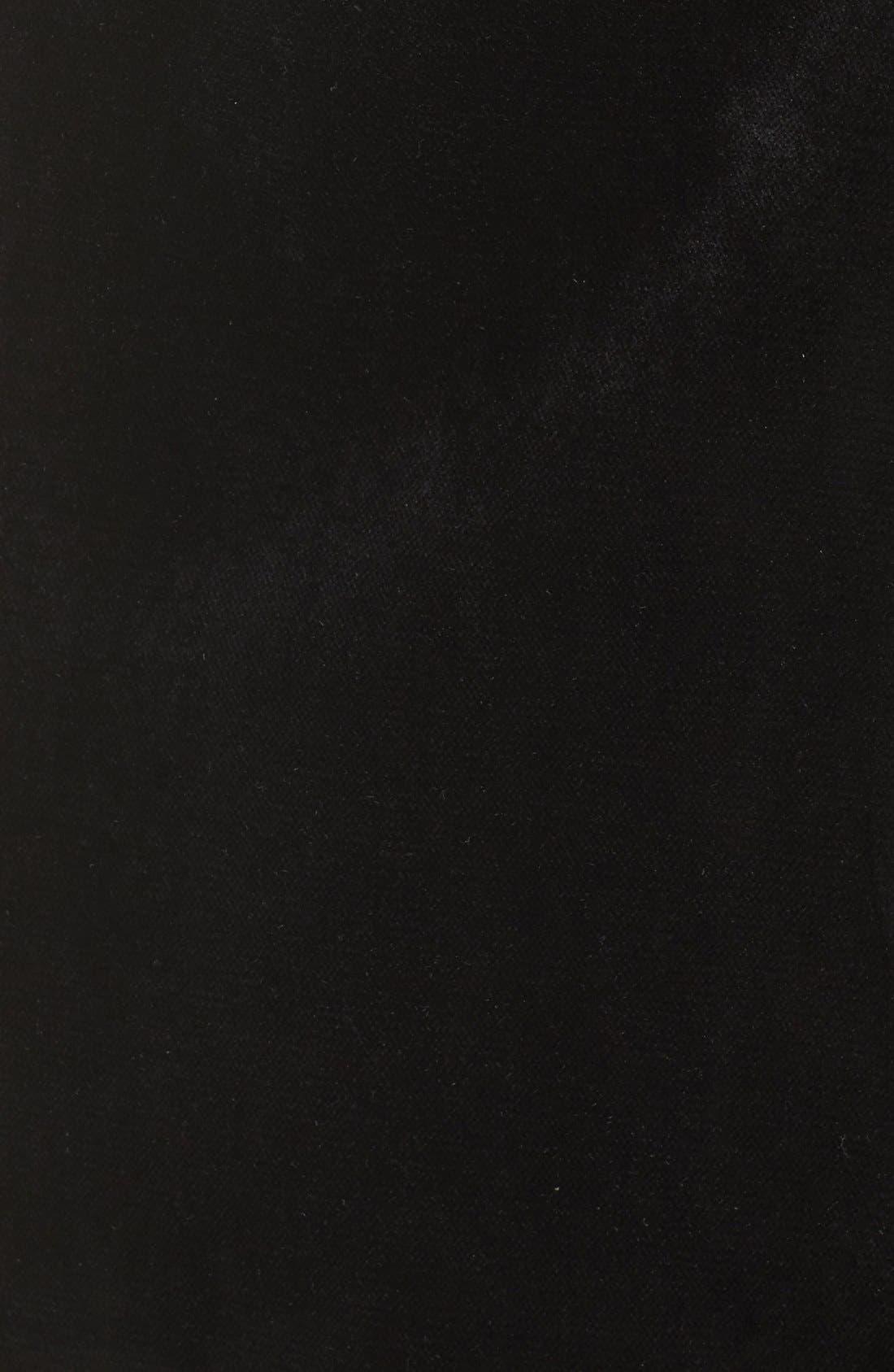 Alternate Image 6  - Greylin Velvet Tuxedo Dress