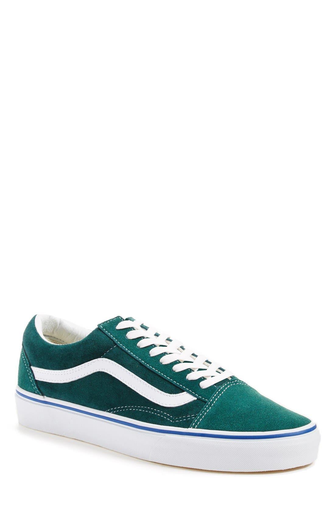Alternate Image 2  - Vans 'Old Skool' Velvet Sneaker (Men) (Nordstrom Exclusive)