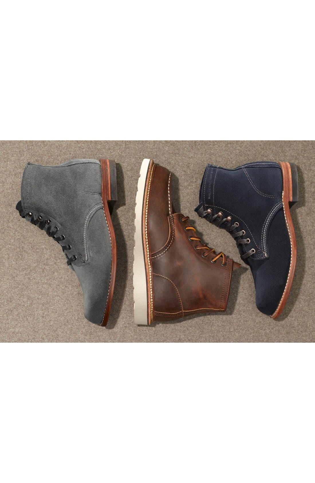 Alternate Image 6  - Red Wing 1907 Classic Moc Boot (Men)