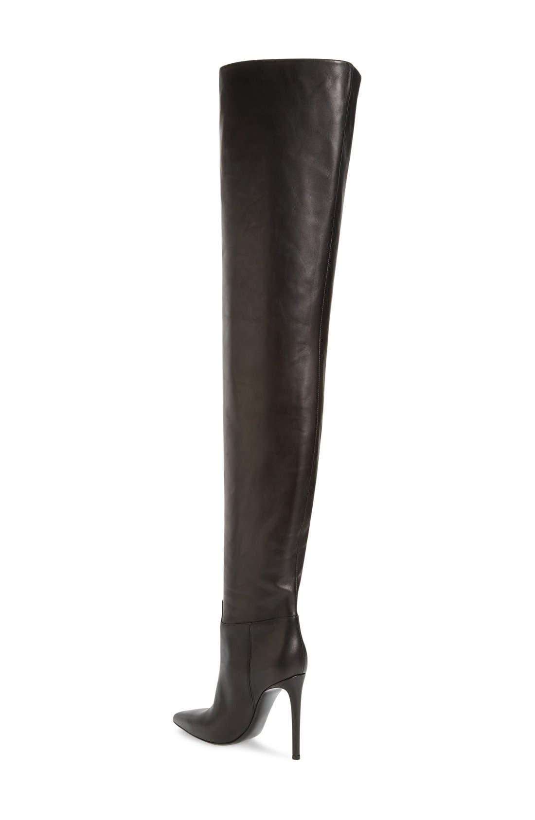 Alternate Image 2  - Balenciaga Over the Knee Boot (Women)
