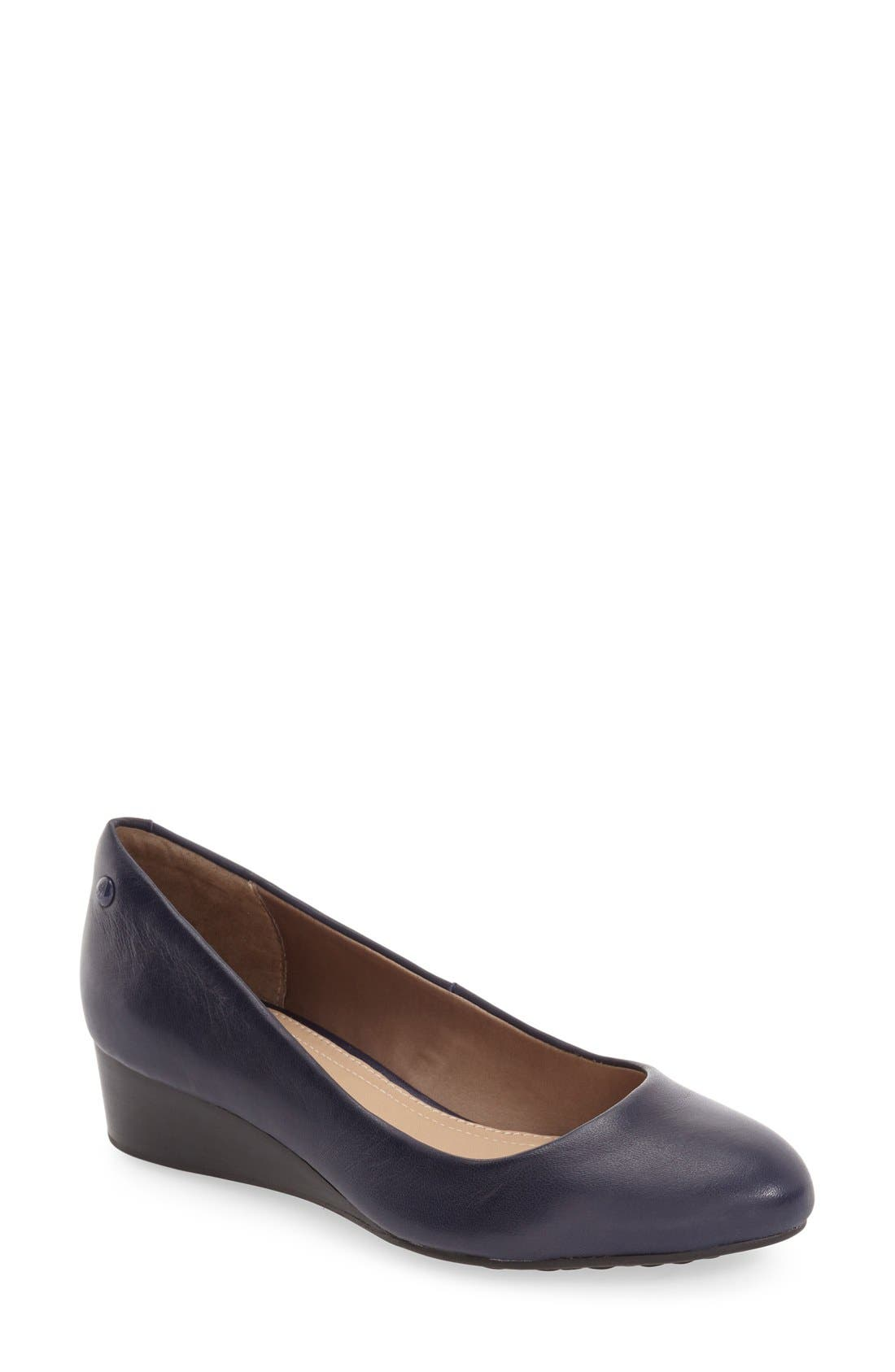 Hush Puppies® 'Dot Admire' Wedge Pump (Women)