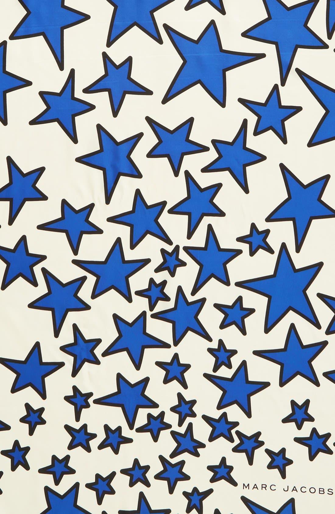 Alternate Image 3  - MARC JACOBS 'Star' Square Silk Scarf