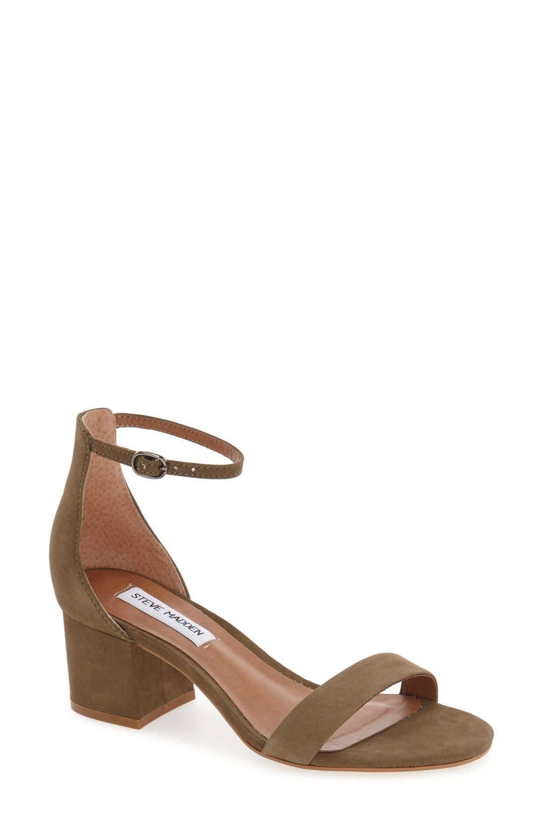 Alternate Image 1 Selected - Steve Madden Irenee Ankle Strap Sandal (Women)