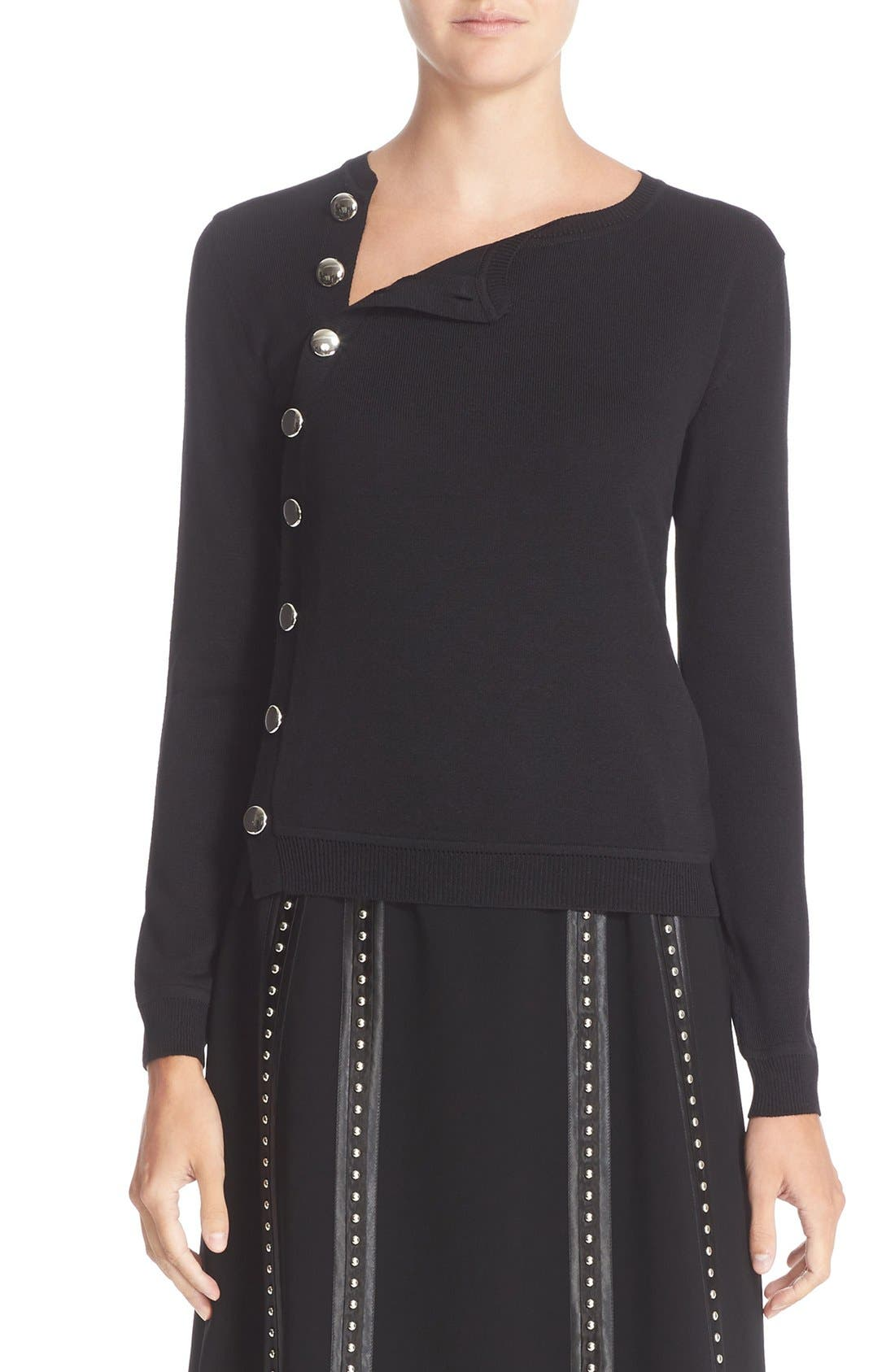 Altuzarra Minamoto Button Merino Wool Sweater