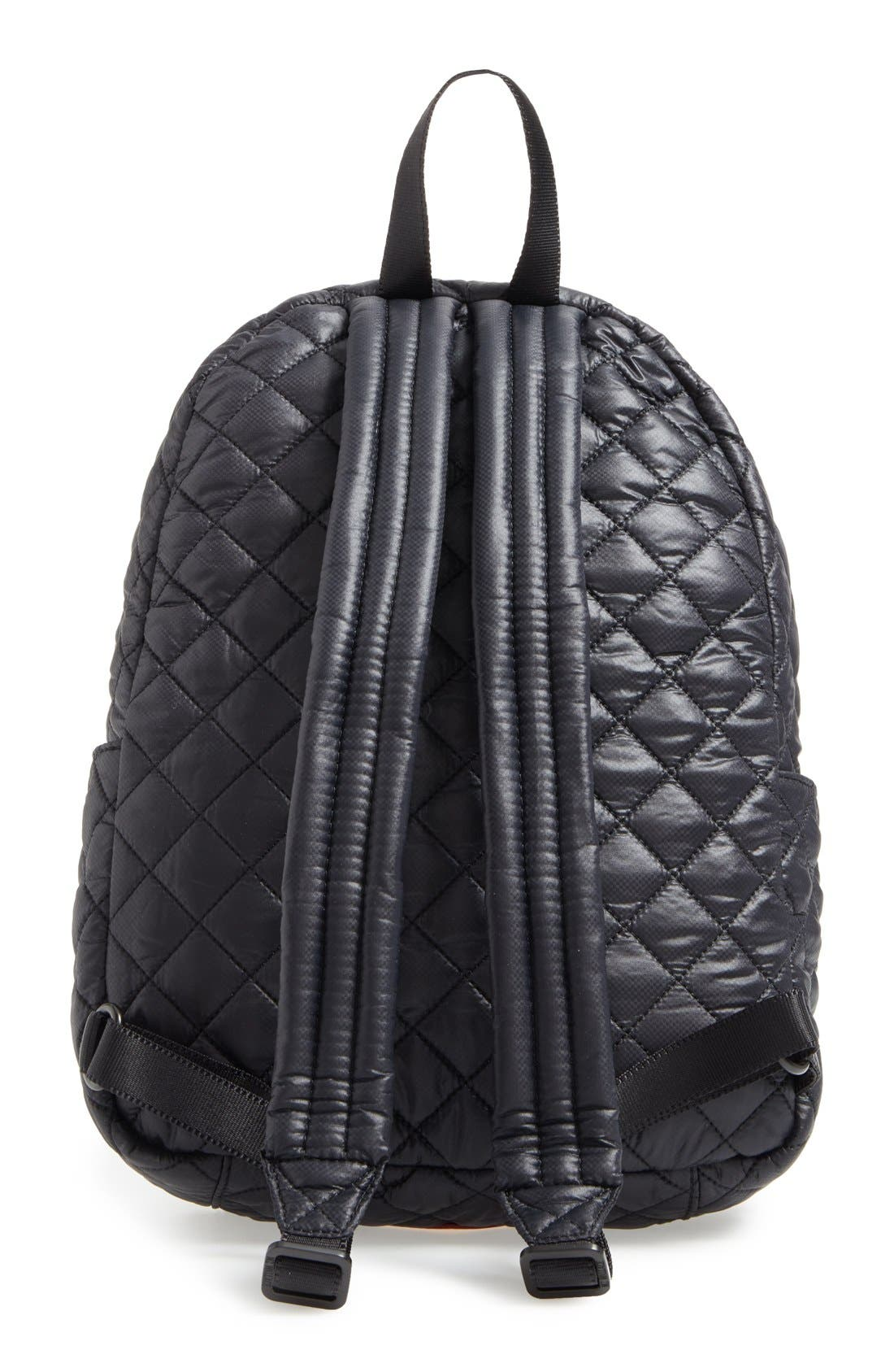 Alternate Image 3  - MZ Wallace 'Small Metro' Quilted Oxford Nylon Backpack