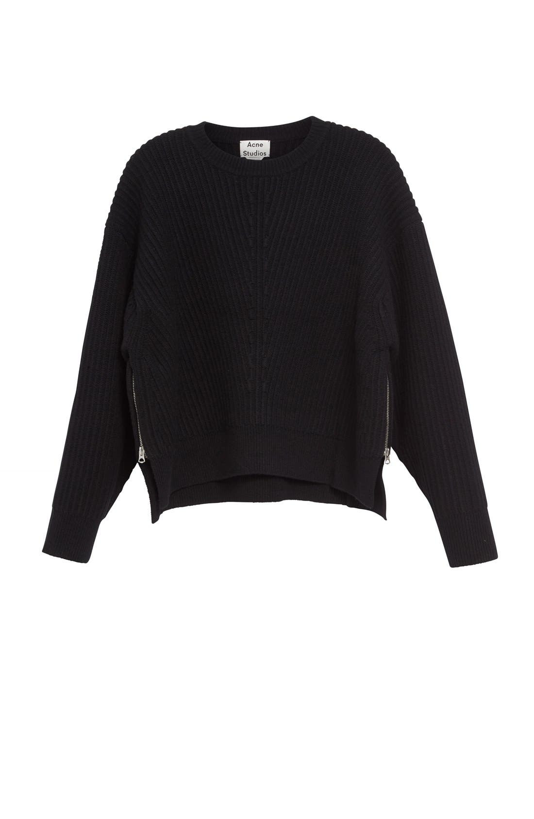 Alternate Image 4  - ACNE Studios Java L Rib Sweater