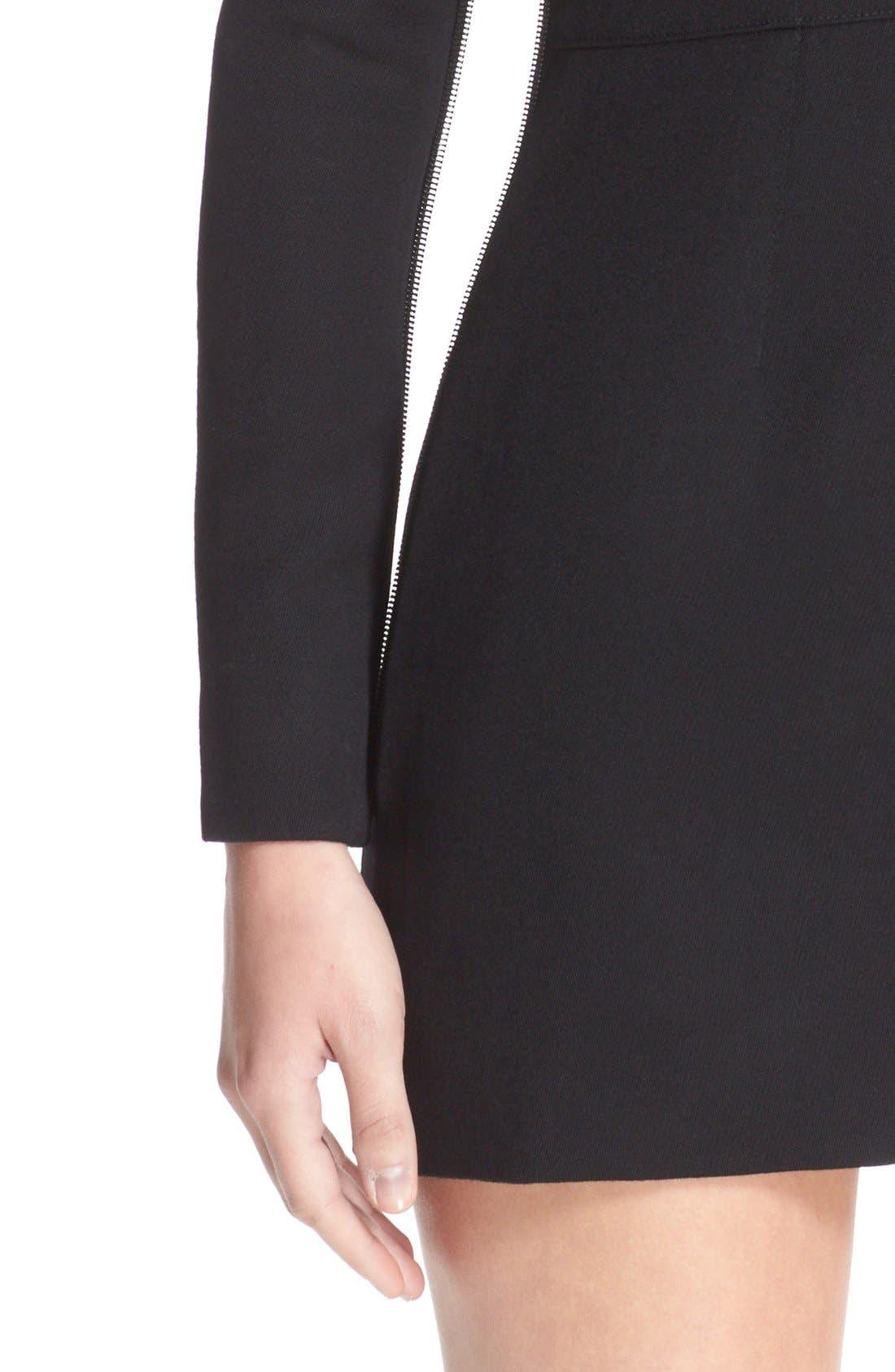 Alternate Image 6  - Vetements 'Sado' Wool Minidress