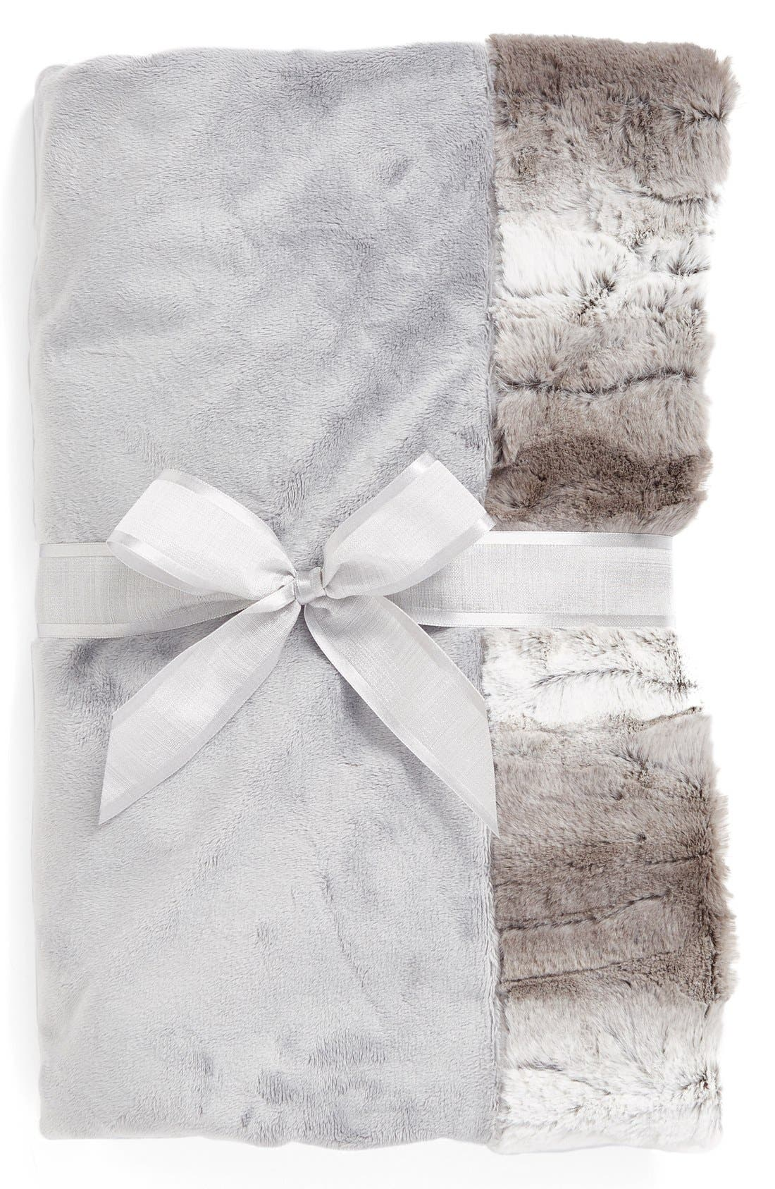 Sonoma Lavender Silver Ombré Blankie (Nordstrom Exclusive) ($70 Value)