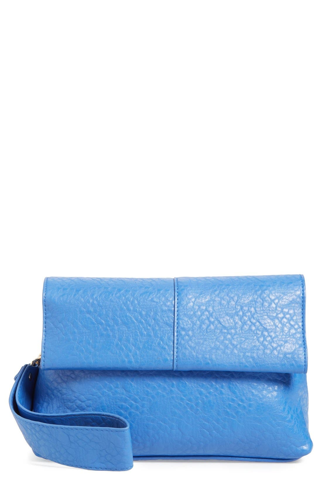Main Image - POVERTY FLATS by rian Faux Leather Convertible Crossbody Bag