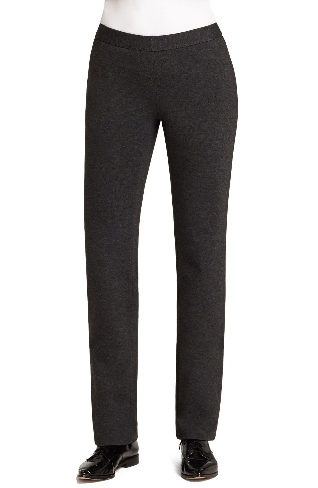 Lafayette 148 New York Punto Milano Straight Leg Pants