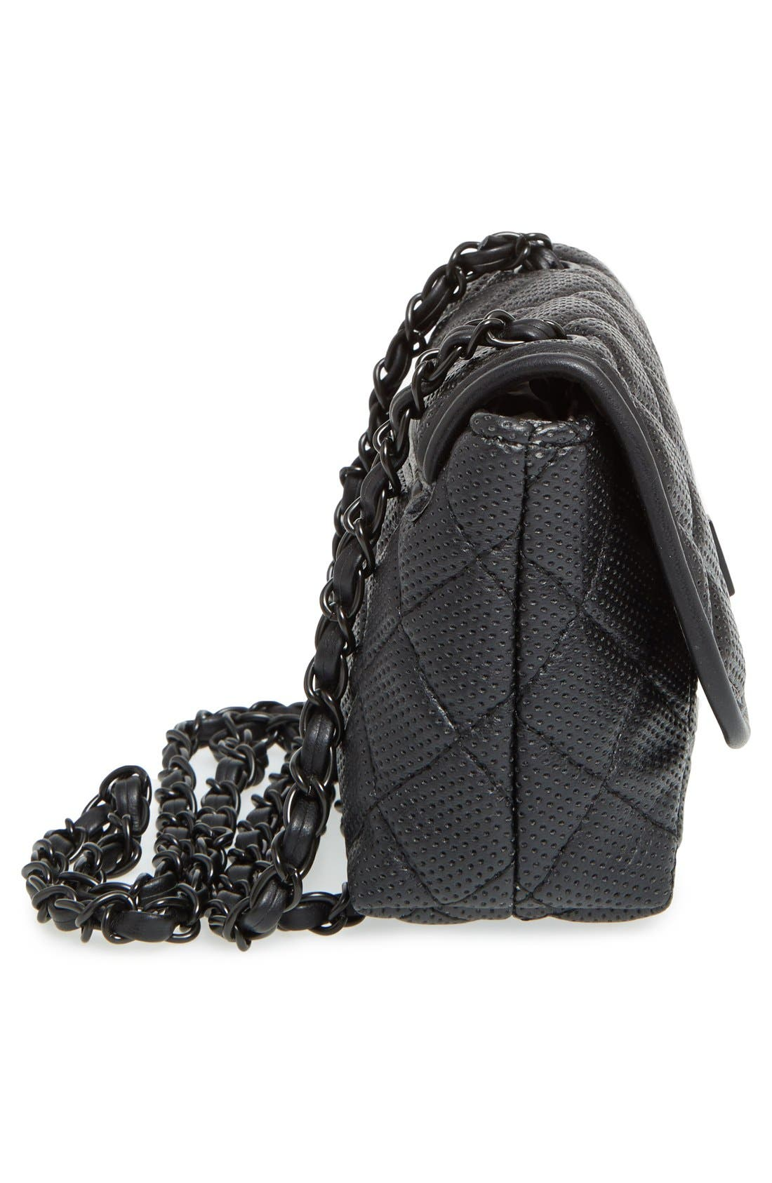 Alternate Image 4  - Steve Madden 'B Clarre' Perforated & Quilted Faux Leather Crossbody Bag