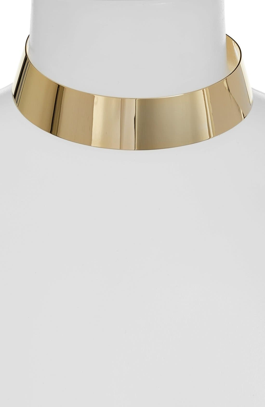 Alternate Image 1 Selected - Nordstrom Wide Metal Choker