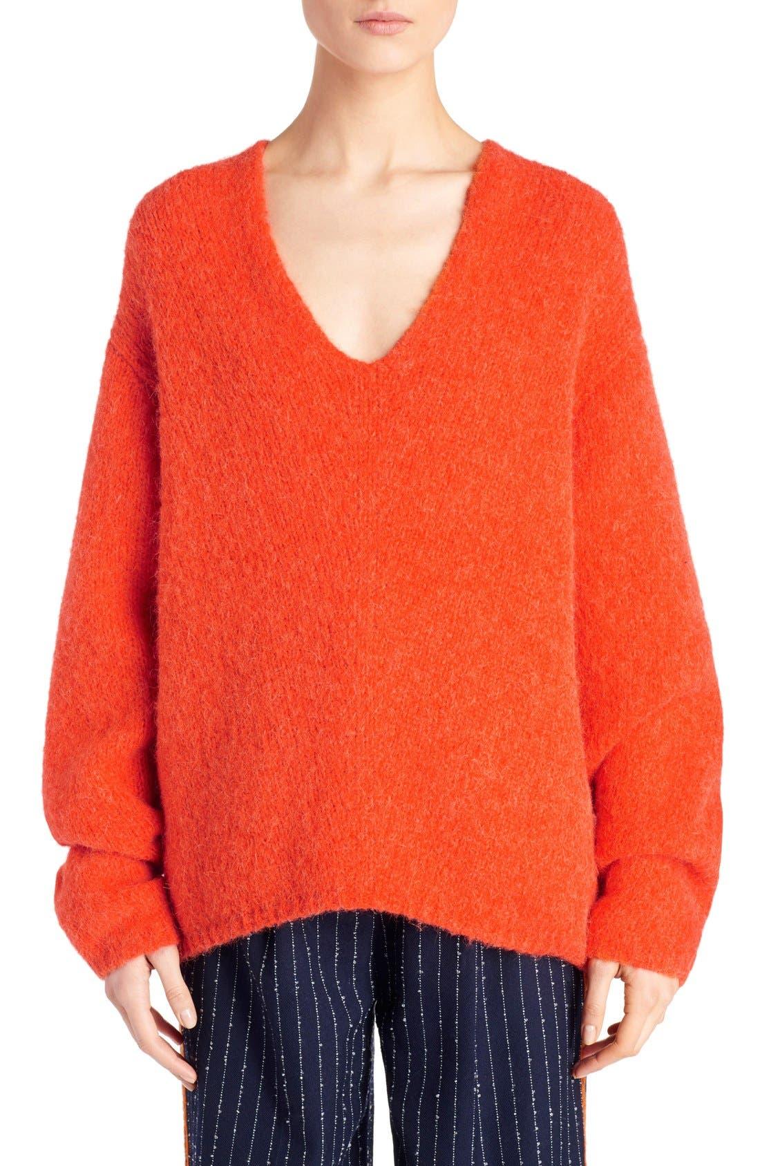 Main Image - ACNE Studios 'Deborah' Oversized Alpaca Blend Sweater