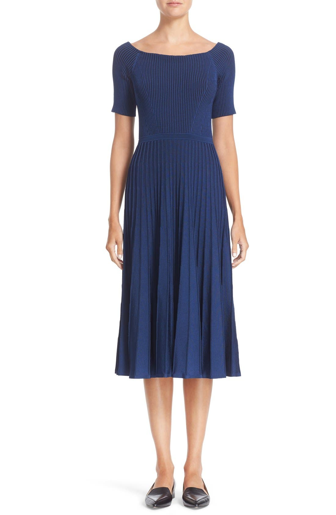 JASON WU Rib Knit Midi Dress