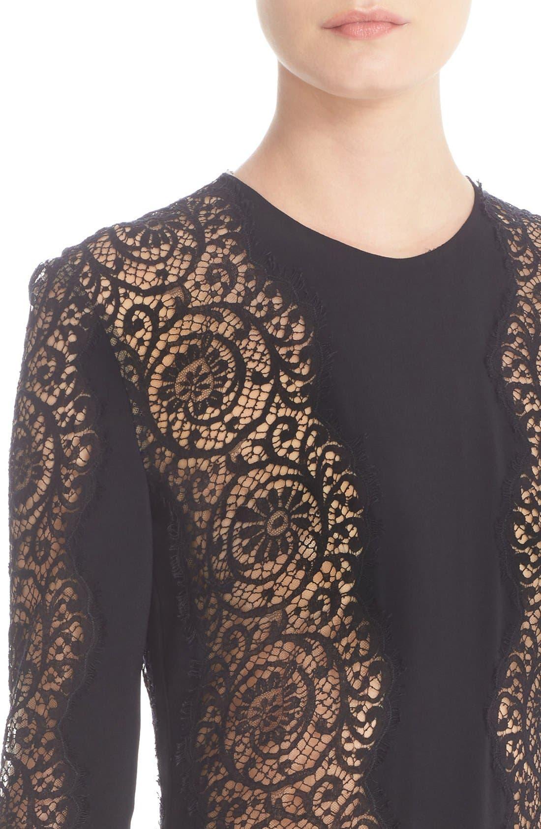 Alternate Image 6  - Stella McCartney Charlie Lace Dress