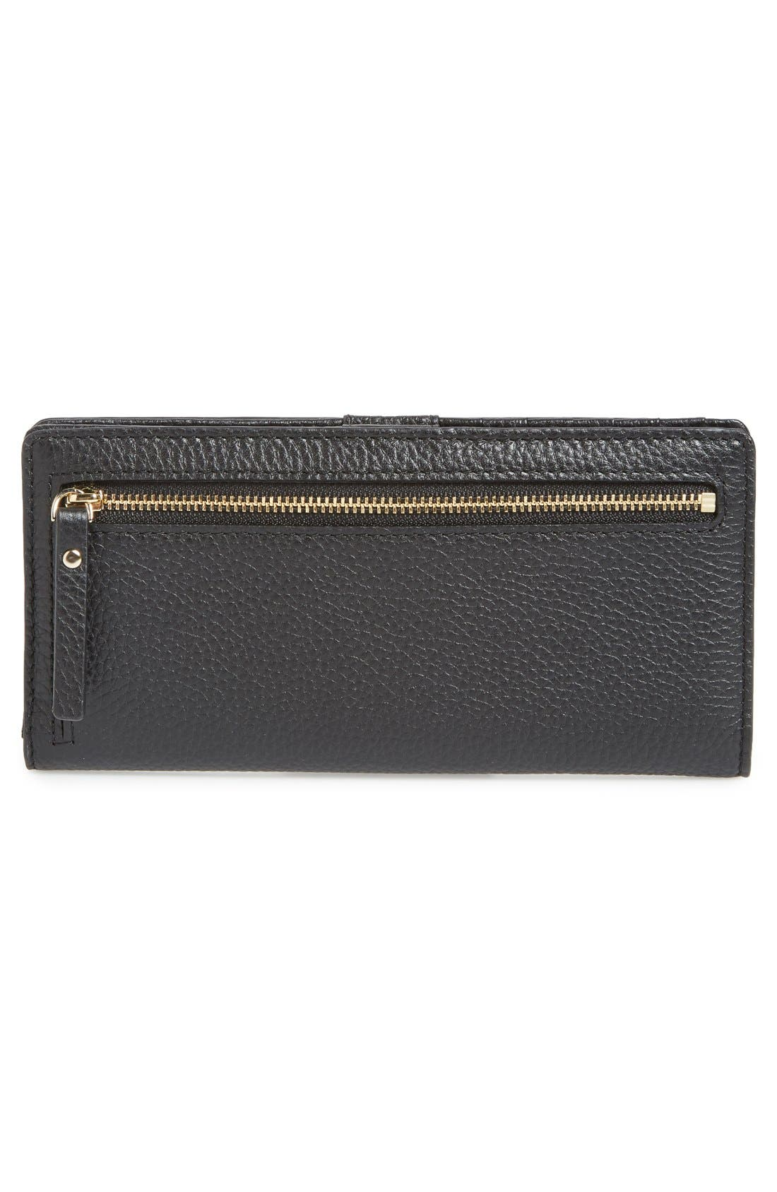 Alternate Image 3  - kate spade new york 'cobble hill - large stacy' leather wallet