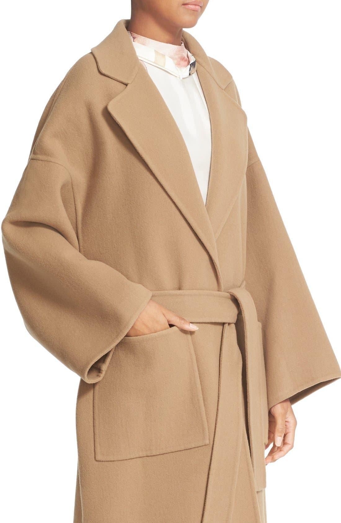 Alternate Image 6  - Loewe Double Face Cashmere & Wool Coat