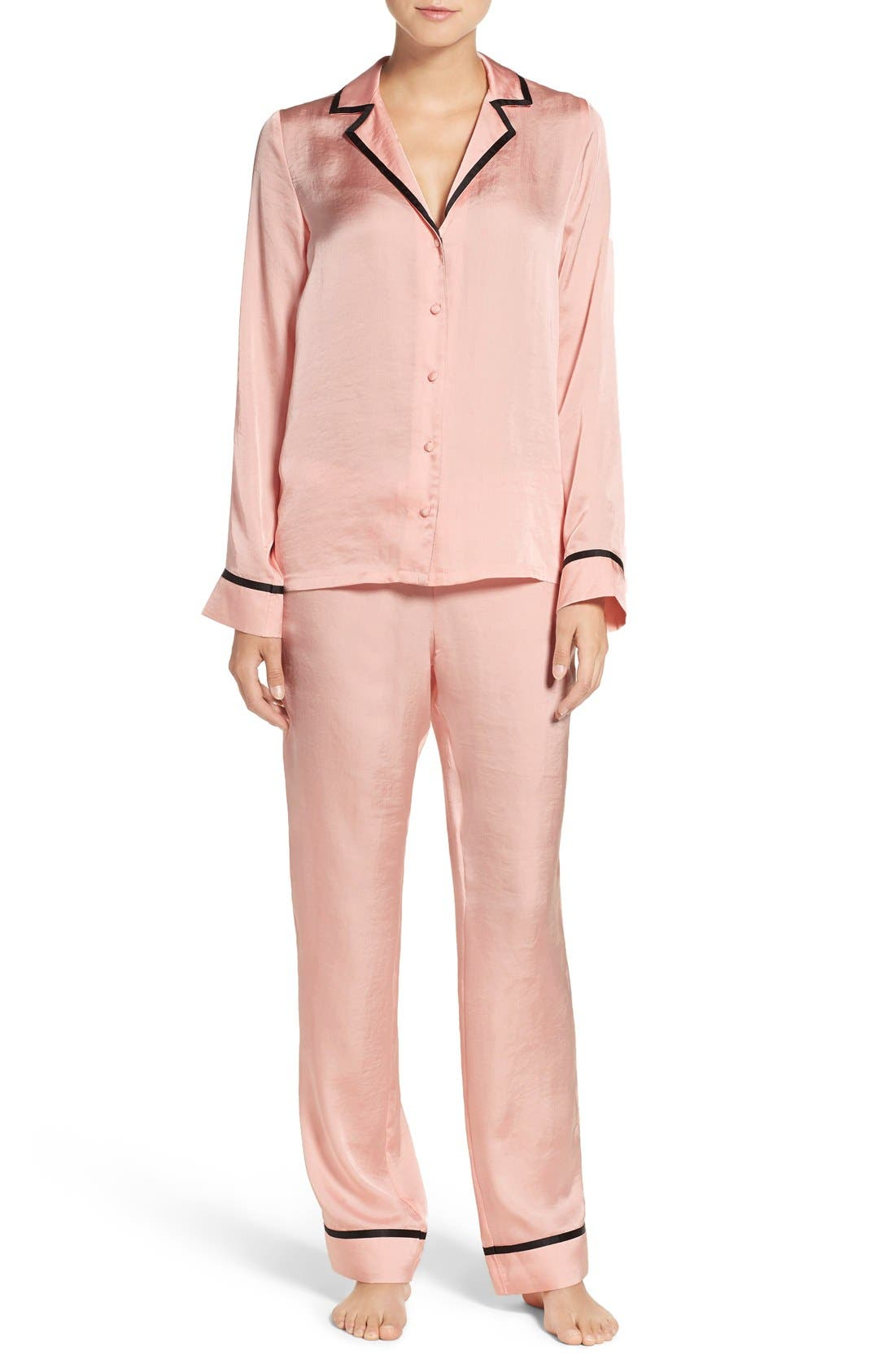 Main Image - Chelsea28 Notch Collar Pajamas