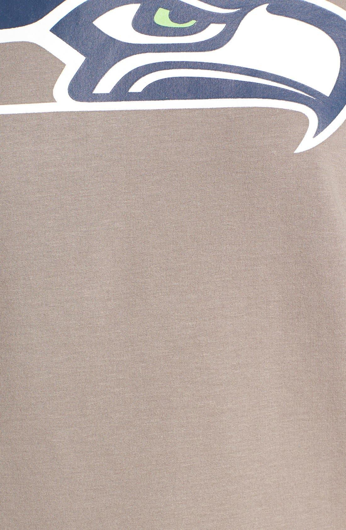 Alternate Image 5  - 47 Brand 'Seattle Seahawks' Graphic Sweatshirt