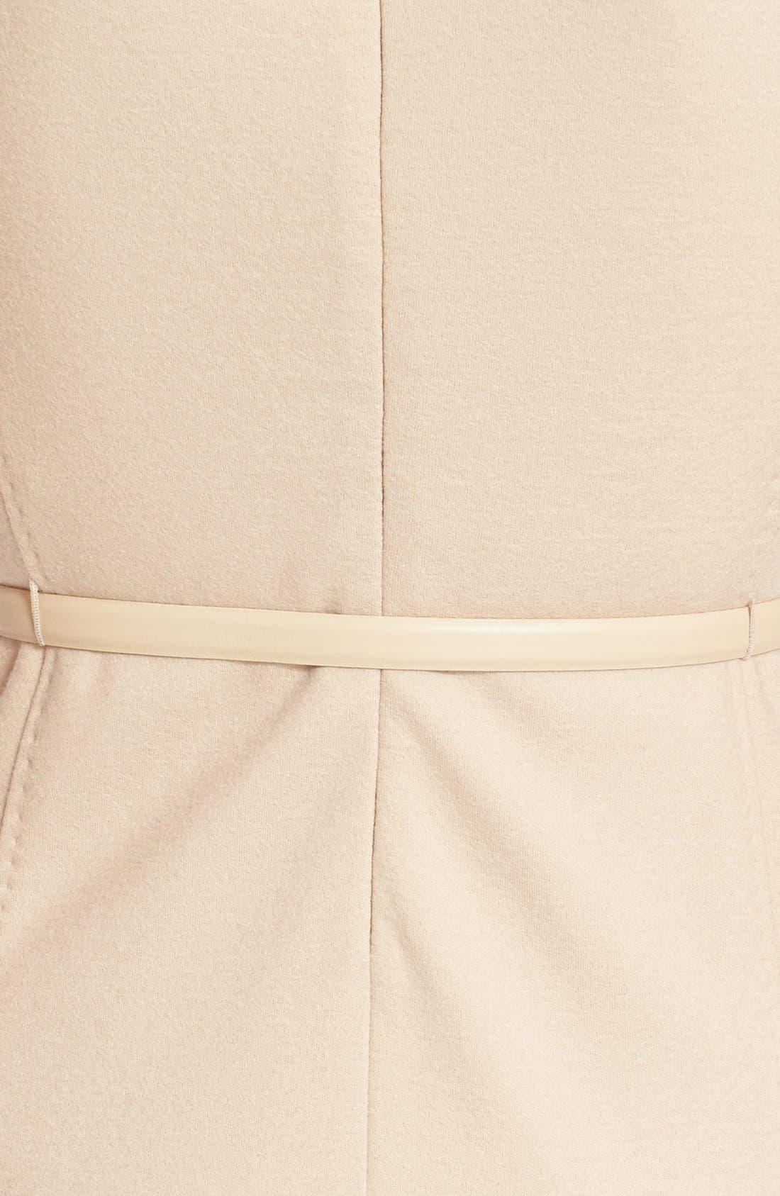 Alternate Image 3  - Max Mara 'Rabbino' Wool Jersey Sheath Dress