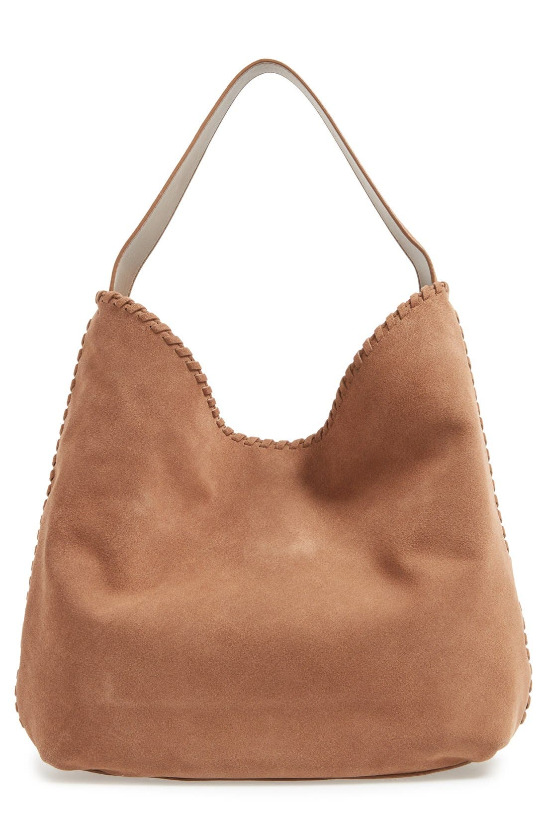 Alternate Image 3  - Tory Burch 'Marion' Suede Hobo