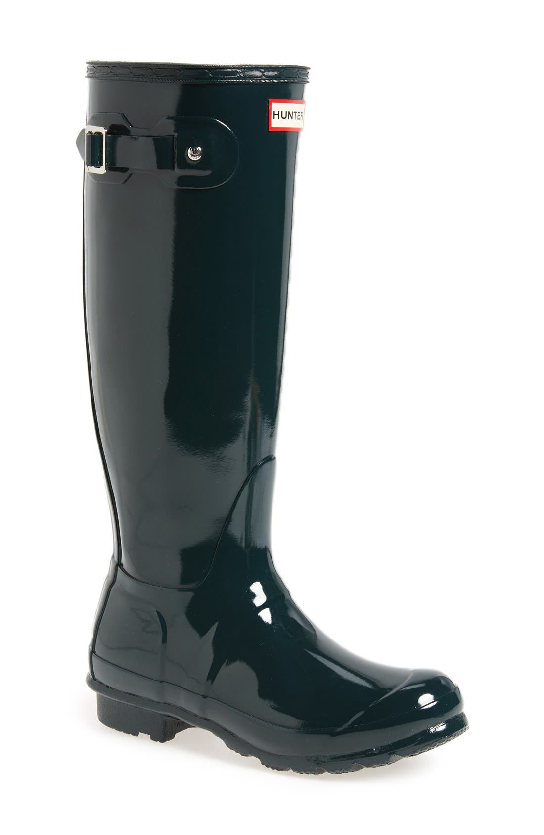 Alternate Image 1 Selected - Hunter Original High Gloss Boot (Women)