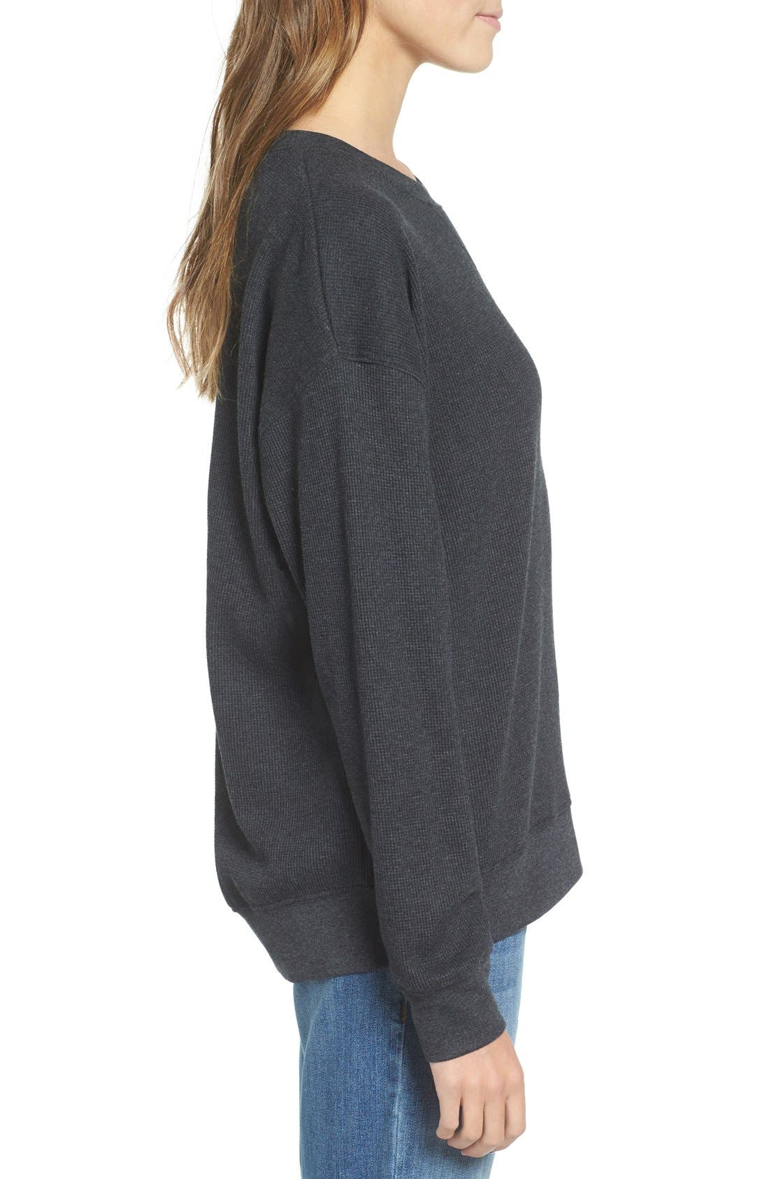 Alternate Image 3  - Obey Eva Long Sleeve Thermal Tee