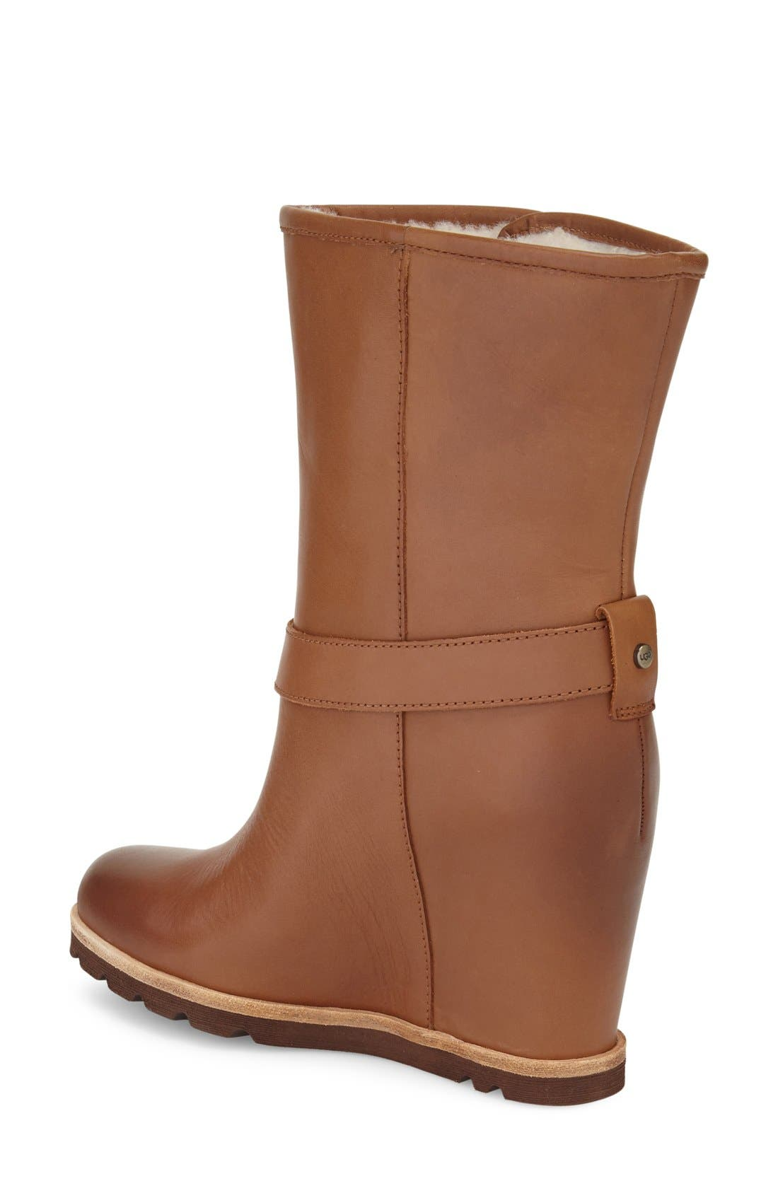 Alternate Image 2  - UGG® 'Ellecia' Wedge Boot (Women)