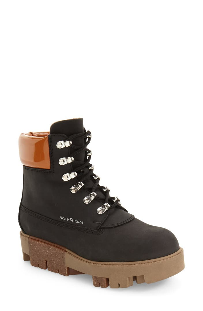 acne studios telda hiker boot women nordstrom. Black Bedroom Furniture Sets. Home Design Ideas